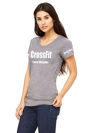 CrossFit Central Wiesbaden Member Shirt Damen – Bild 2