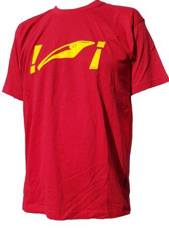 Zalt T-Shirt, Farbe: Rot mit Logo
