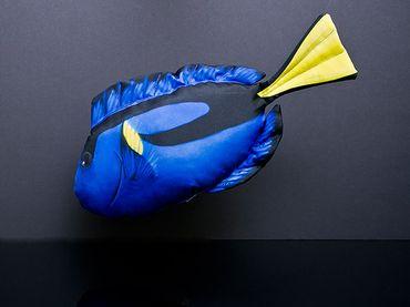 Gaby Stofffisch Palettendoktor mit 56 cm Länge – Bild 1