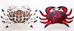 Gaby Stofffisch Krabbe Rot mit 60 cm Durchmesser 001