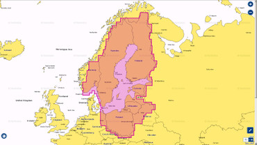Navionics + 44XG, Baltic Sea auf MSD-Chip