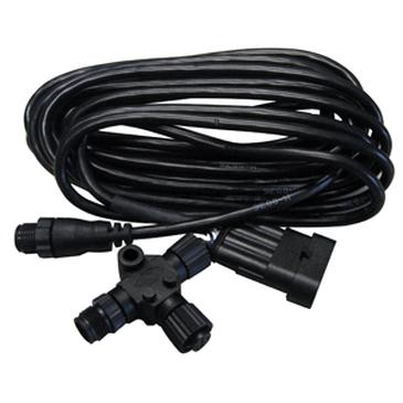 Lowrance NMEA 2000® N2K Evinrude Motor-Interfacekabel, Micro-C, mit 4,5 m (15 ft) Kabel und T-Stück – Bild 1