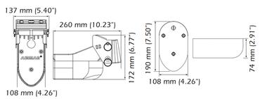 Airmar TM 275 LH-W Low-High CHIRP Heck-Geber mit 9Pin XSonic Stecker, 1 kW, 10m Kabel – Bild 2