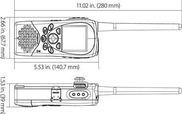 Lowrance Link-2 UKW Hand-Funkgerät – Bild 2