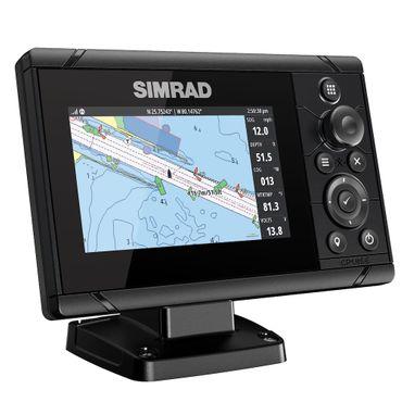 Simrad Cruise 5 mit 83/200 KHz Chirp Heckgeber – Bild 3