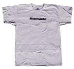 Motorguide T-Shirt, Farbe: Hellgrau mit Aufdruck 001