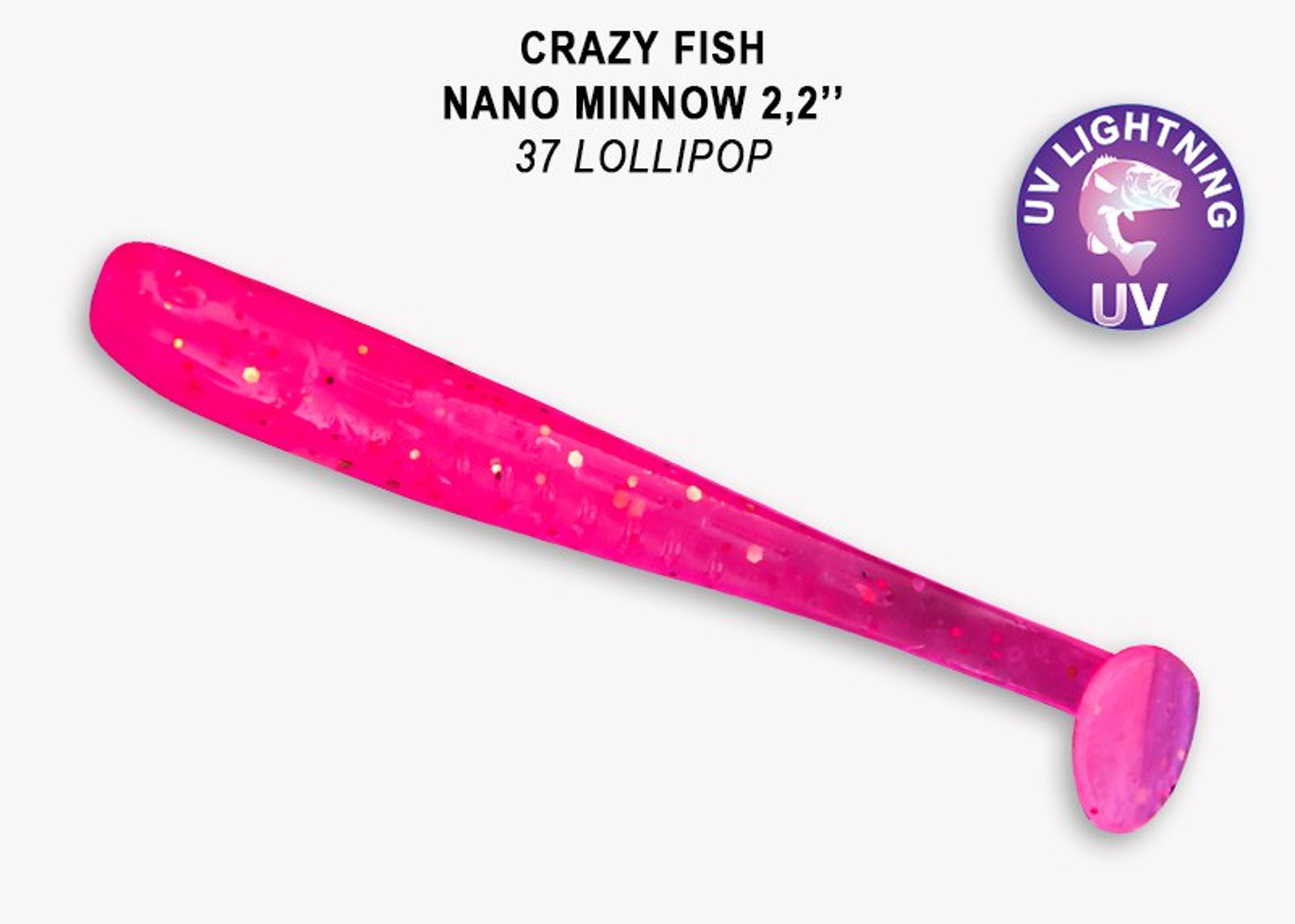 Crazy Fish Nano Minnow 4,0 cm – Bild 13