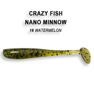 Crazy Fish Nano Minnow 4,0 cm – Bild 8