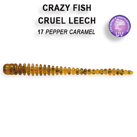 Crazy Fish Cruel Leech 5,5 cm – Bild 5