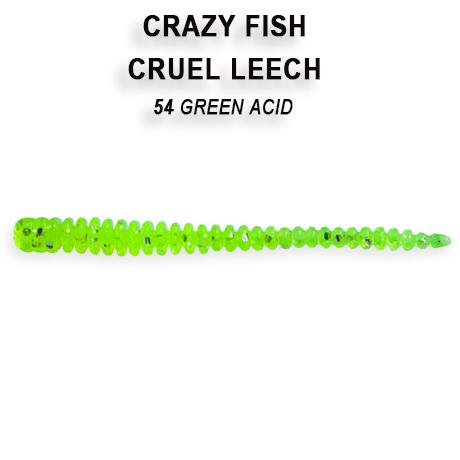Crazy Fish Cruel Leech 5,5 cm – Bild 9