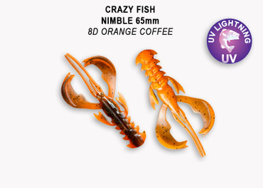 Crazy Fish Nimble 6,5 cm – Bild 4