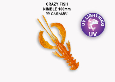 Crazy Fish Nimble 10 cm – Bild 5
