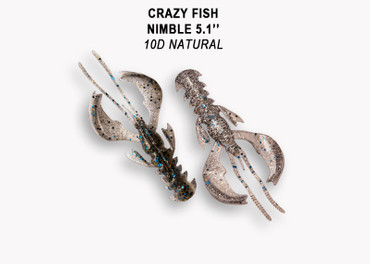 Crazy Fish Nimble 10 cm – Bild 6