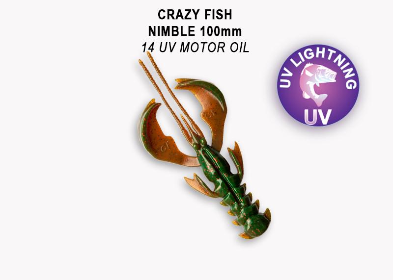Crazy Fish Nimble 10 cm – Bild 7