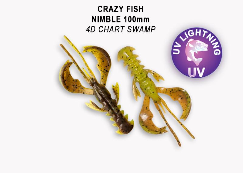 Crazy Fish Nimble 10 cm – Bild 3