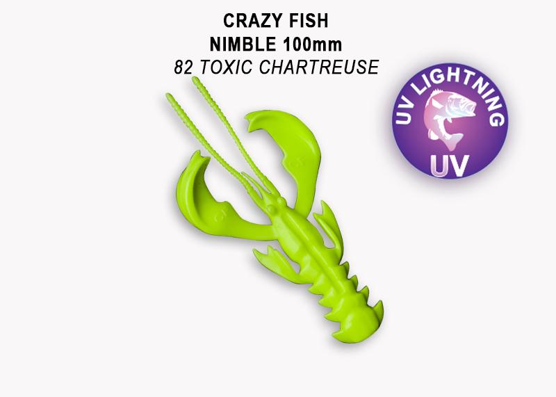 Crazy Fish Nimble 10 cm – Bild 1