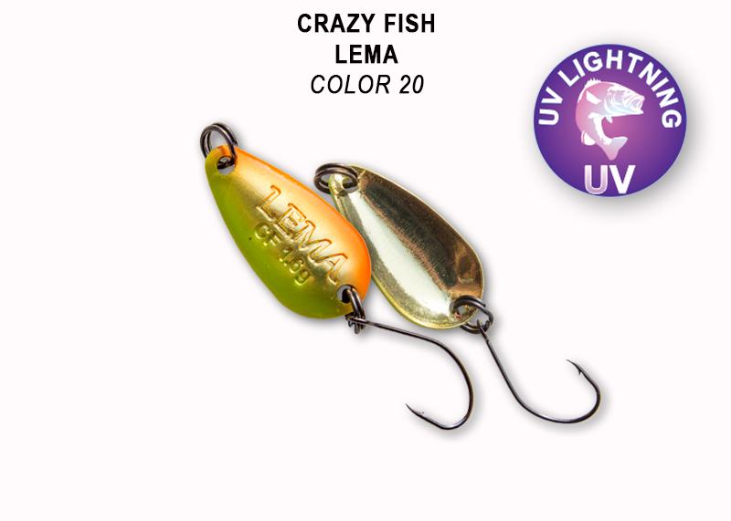 Crazy Fish Lema 1,6 gr – Bild 6