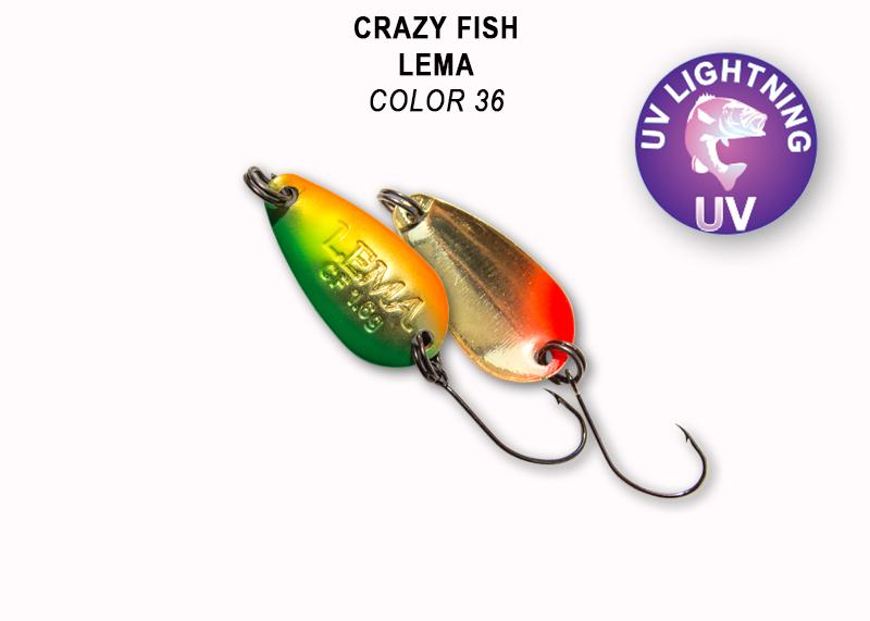 Crazy Fish Lema 1,6 gr – Bild 24
