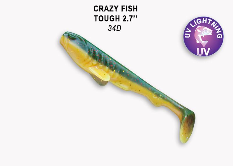 Crazy Fish Tough 7,0 cm – Bild 9