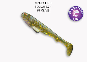 Crazy Fish Tough 7,0 cm – Bild 2