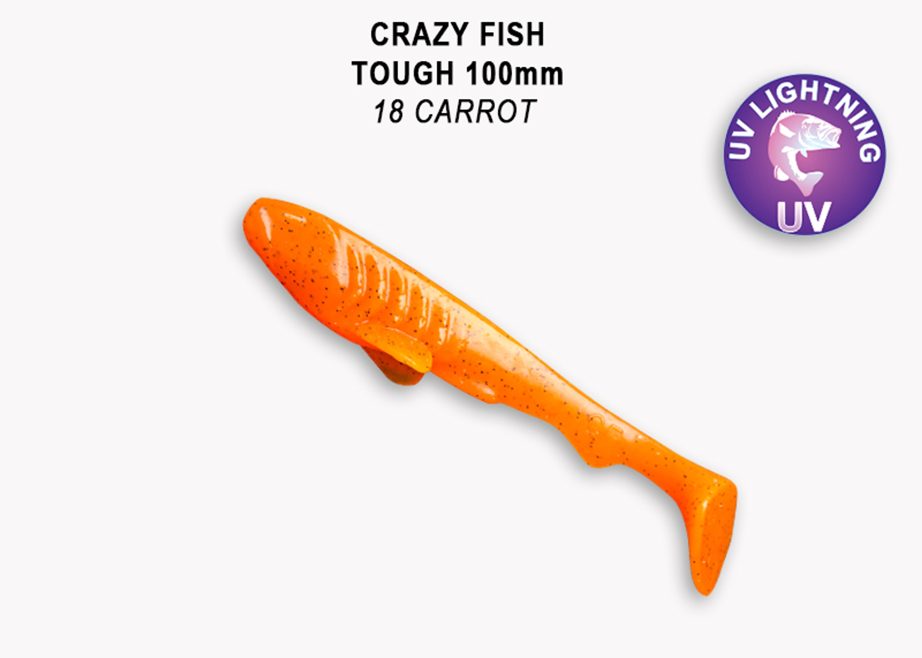 Crazy Fish Tough 10,0 cm – Bild 1