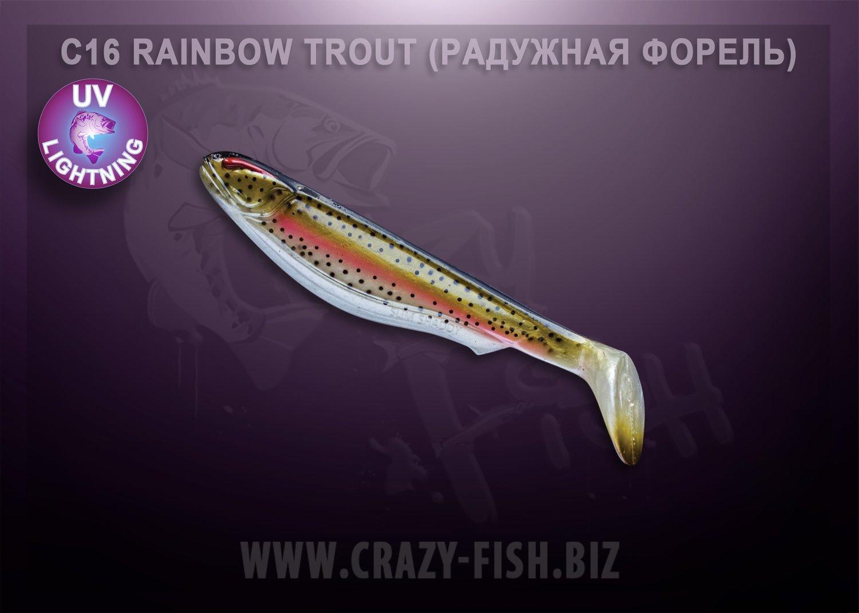 Crazy Fish Slim Shaddy 20,0 cm, 1 Stück – Bild 5