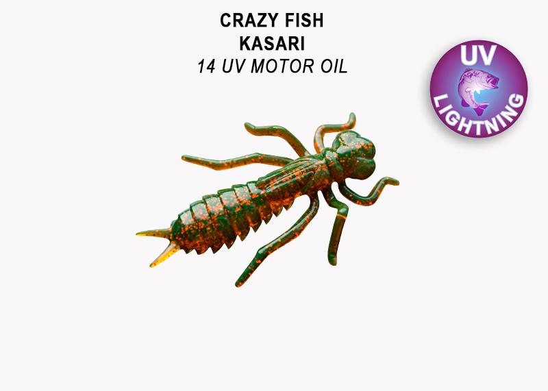Crazy Fish Kasari 4,0 cm – Bild 2