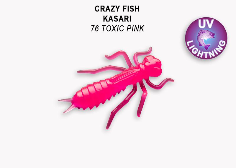 Crazy Fish Kasari 4,0 cm – Bild 6