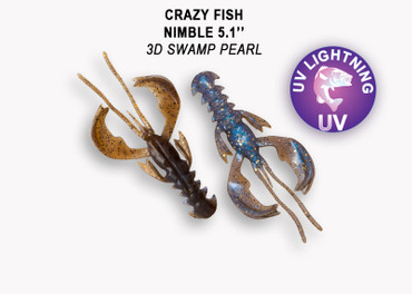 Crazy Fish Nimble 12,5 cm – Bild 5