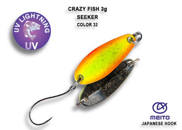 Crazy Fish Seeker 3 gr – Bild 7