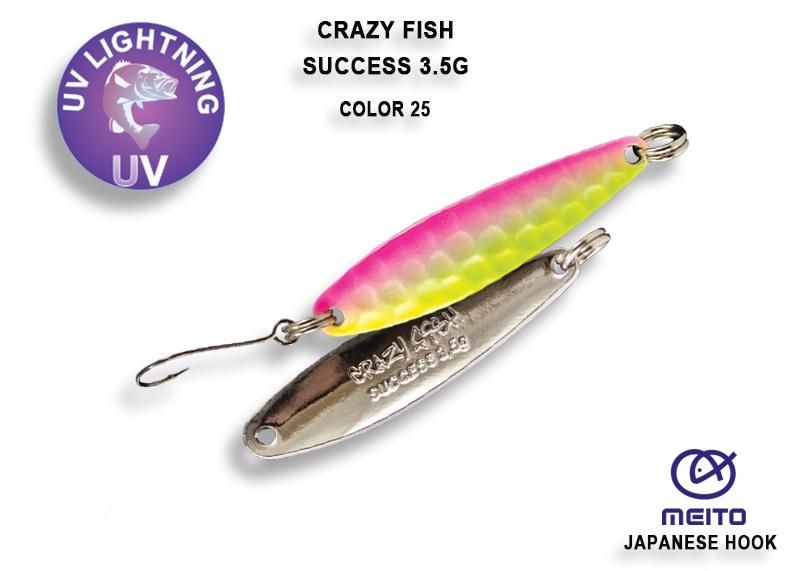 Crazy Fish Success 3,5 gr – Bild 3