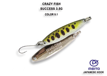 Crazy Fish Success 3,5 gr – Bild 1