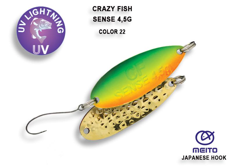 Crazy Fish Sense 4,5 gr – Bild 3