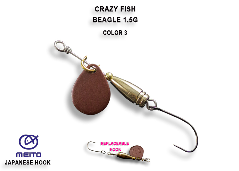 Crazy Fish Beagle 1,5 gr – Bild 1