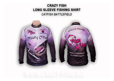 Crazy Fish Tournament Shirt Catfish Battlefield – Bild 1