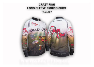 Crazy Fish Tournament Shirt Fantasy – Bild 1