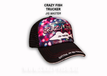 Crazy Fish Trucker Cap – Bild 3