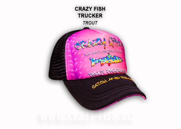 Crazy Fish Trucker Cap – Bild 1