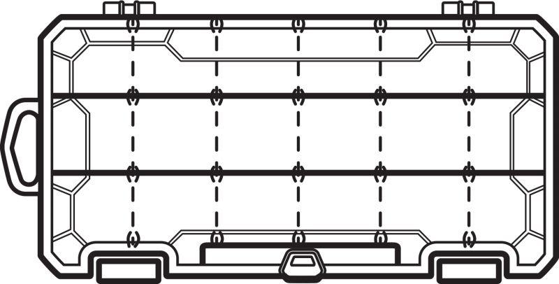 Flambeau 3003 Tuff Tainer, VE mit 12 Boxen – Bild 3