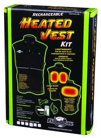 Flambeau F100 Heated Vest Kit – Bild 1