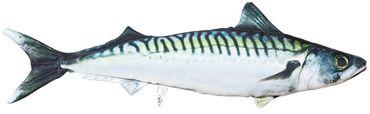 Gaby Stofffisch Makrele mit 60 cm Länge