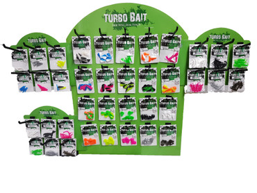 Turbo Bait Verkaufsdisplay All-In-One mit 380 Blistern