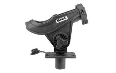 Scotty SC-0281, Baitcaster/Spinnrutenhalter mit SC-0244 Flush Deck Mount.