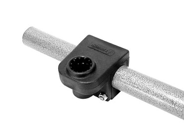 "Scotty SC-0245, 1 1/4"" Round Rail Mount"