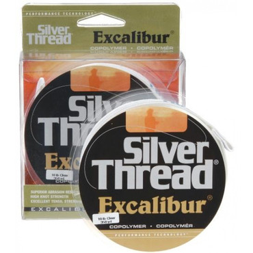 Pradco Silver Thread Excalibur monofile Angelschnur, 0,25 mm, 6 lbs (2,7 kg), 320 m