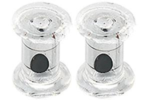 Delalande 5 kleine Glas Rasseln für Buster Shads – Bild 1