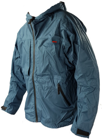 Rapala Pro Wear, Light Aquavent Regenjacke, Farbe: Petrol blue – Bild 1