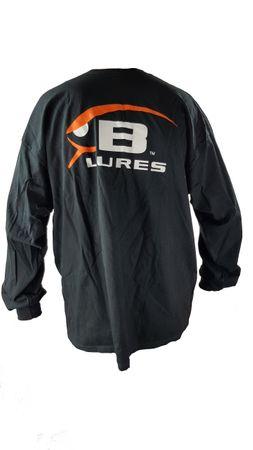 Bomber Langarm T-Shirt, Farbe: Schwarz – Bild 2
