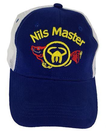Nils Master Trucker Cap Blau Weiß, Grösse: Uni – Bild 4