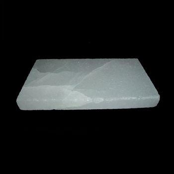 Salzfliese Weiß Flach 20x10x2 cm (~ 0,9 kg)